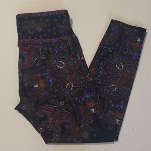 NANETTE LEPORE Paisley Print Cropped Leggings